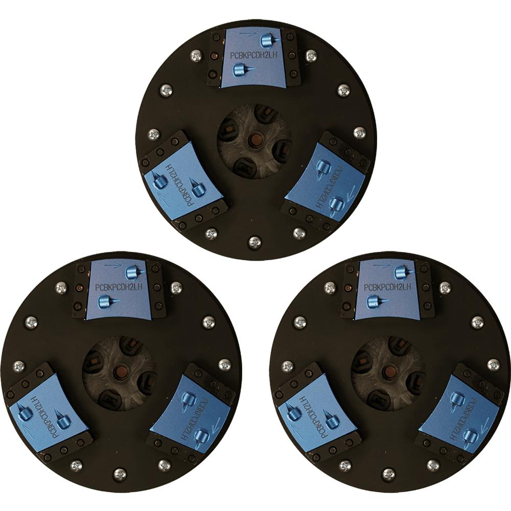 Double 1/4 Round PCD Diamond Scrapers
