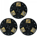 Soft Bond Gold Dual Segment Blades
