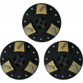 Soft Bond Gold Single Segment Blades