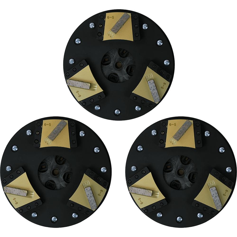 Soft Bond Gold Single Segment Blades