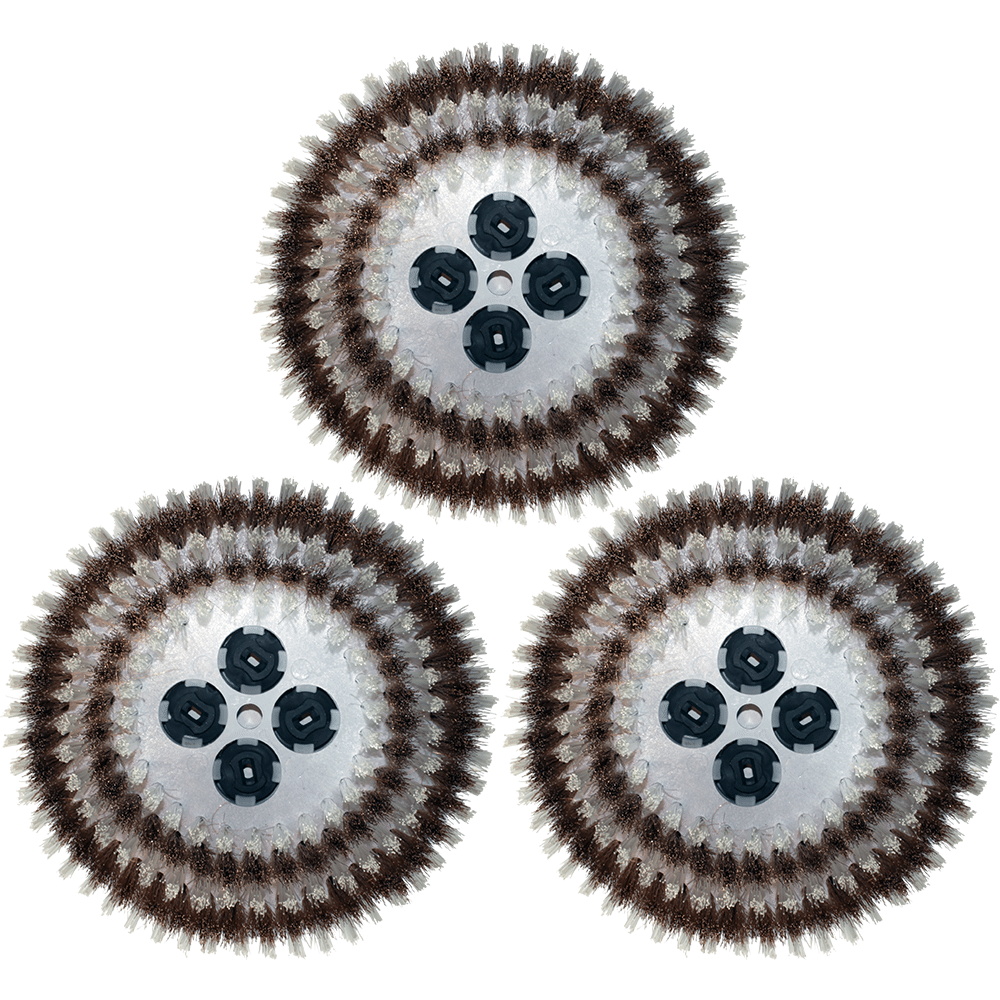 poly bronze mix brushes