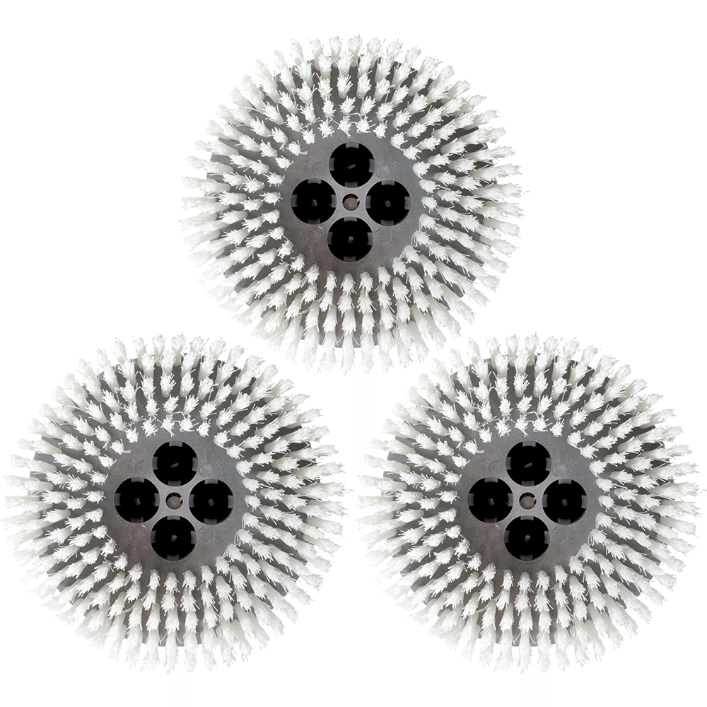White Nylon Brushes