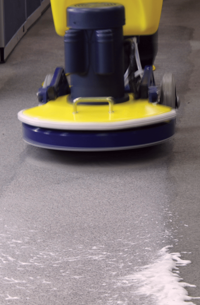 Encapsulation Carpet Cleaning With The Cimex Carpet Machine